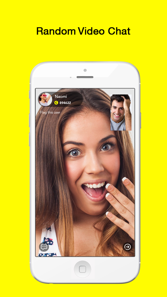 Hippo - Live Random Video Chat App for iPhone - Free