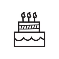 Minimal Birthday Doodles