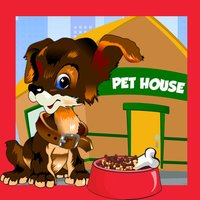 Cute Little Pet-s Store Shadow Game-s Animated Baby & Kids Task-s Tricky Puzzle Toddler`s First App