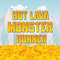 Hot Lava Monster: Endless lava runner