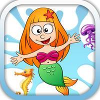 Mermaid And Friend Kids Memory
