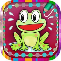 Play paint and connect dots– educative coloring book with drawings for kids and children