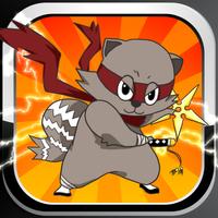 Raccoon Ninja: Basic Addition and Subtraction Games for Kids