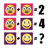 Emojis Math Puzzles