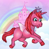 A Pretty Princess Unicorn Candy Quest Run FREE