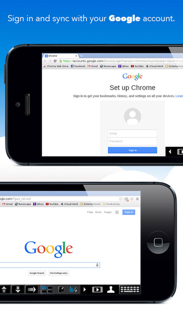 VirtualBrowser for Chrome™ with Flash-browser, Java Player