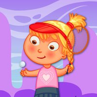 Tennis Bubble Arcade - PRO - girly summer balloon adventure