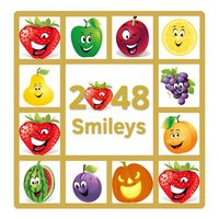 2048 Smileys: Emoji Puzzle Game