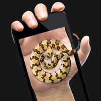 蛇屏幕恶作剧-高级手持手机恶搞器