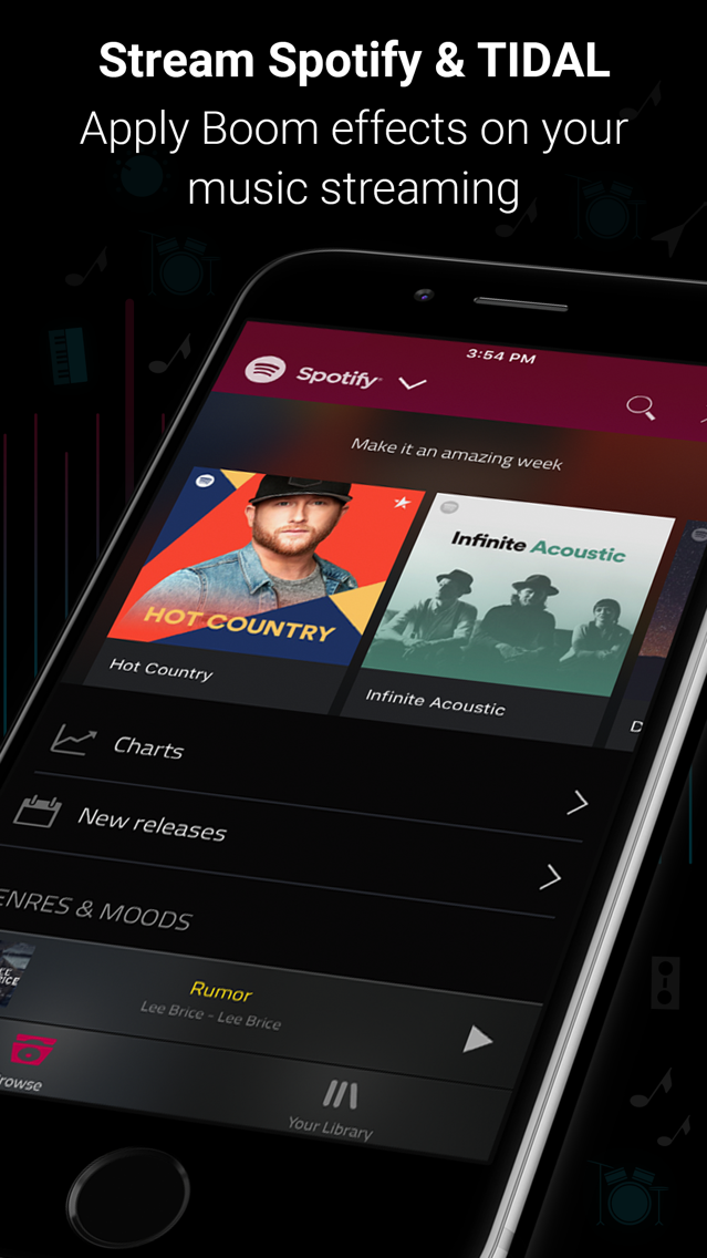 Boom: Music Player & Equalizer App for iPhone - Free