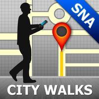 Siena Map & Walks (F)