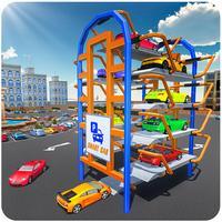 Smart Car Parking – Multi Level Parking Master