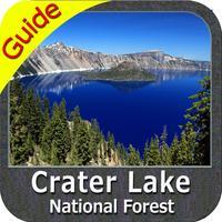 Crater Lake National Park - GPS Map Navigator