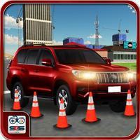 Stunts Prado Car Parking 3D