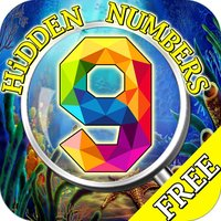 Free Hidden Object Games:Seaside Hidden Numbers