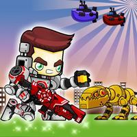 Robot Shooting - Iron Wars