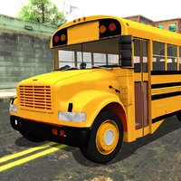 Drive School Bus 3D Simulator