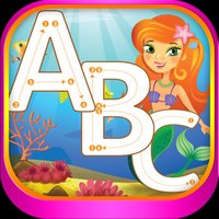 ABC Alphabet Tracing Mermaid Coloring for kids