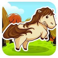 A Baby Horse Run -  Jumping Horses Race Games