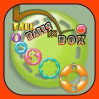 Fall balls in box