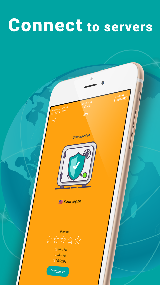 Sure VPN: Hotspot & Wifi Proxy App for iPhone - Free Download Sure