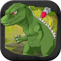 A Mini Godzilla Escape Shooter Wars
