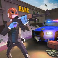 Bank Robbers Vs Police Battle