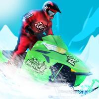 Snowmobile Race Antarctica