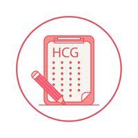 HCG参考值