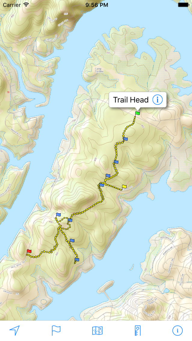 Topo Maps US App for iPhone - Free Download Topo Maps US for