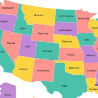 USA Capital Cities and Map