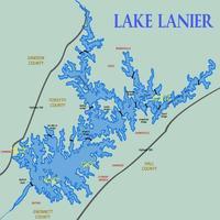 Lake Lanier Water Level