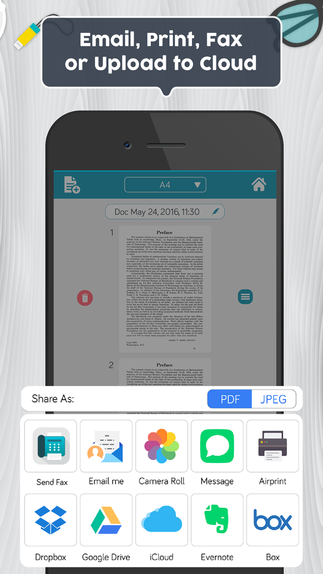 Easy Scanner PDF Document Scan App for iPhone - Free