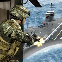 Naval Warfare Gunship Battle – Navy Seal Shooting
