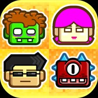 Beat the Block heads! 8-bit Pixel Survival - Multiplayer Puzzle Fighter Club Game
