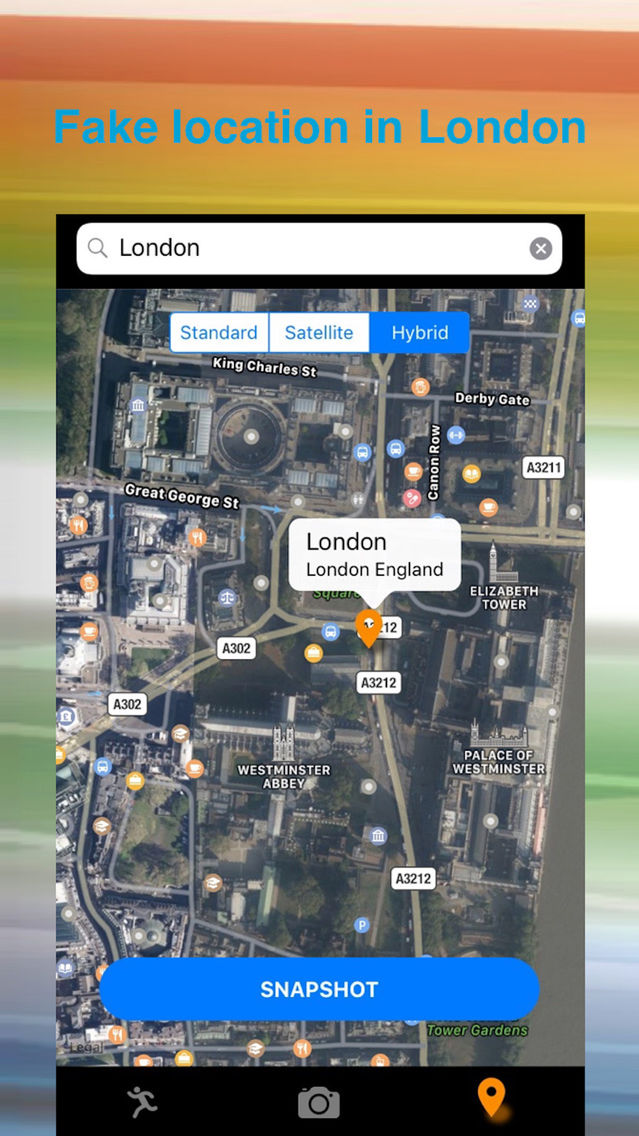 Fake GPS GO Location by DaVil App for iPhone - Free Download Fake