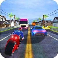 Highway Moto Bike Rider