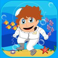 Deep Sea Challenge Free - Similar steps under a cute underwater world game