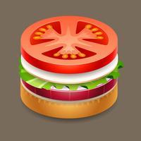 Hamburger - stickers for iMessage