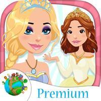 Dressing & make up princesses games - Premium