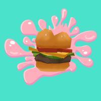 Burger Splat - Color Shooter