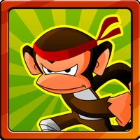 Crazy Ninja Monkey Dash 2