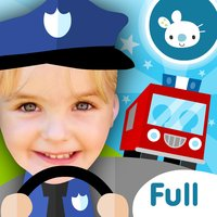 Fireman! Fire Fighter Truck Driving Games for Kids