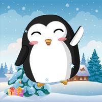 Penguin Ski Run Downhill