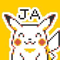 Pokémon Pixel Art, Part 1: Japanese Sticker Pack