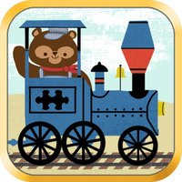 Train Games for Kids: Zoo Railroad Car Puzzles All