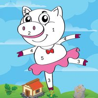 Coloring For Pig and Friends
