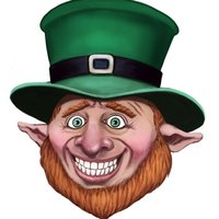 Leprechaun Stickers by Catchy