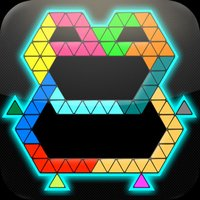 Puzzle Grid Triangles