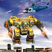 Flying Robot Battle Rescue Simulator